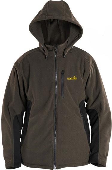 куртка флисовая для рыбалки