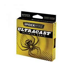 Шнур плет. Spiderwire Ultracast, Hi-Vis Yellow, 110m, 0,30mm, 36,5kg