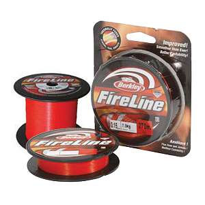 Шнур плетёный Berkley Fireline Red 110m, 0.39мм