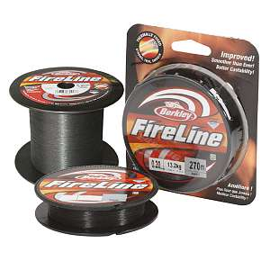 Шнур плетёный Berkley Fireline Smoke 110m, 0.25мм