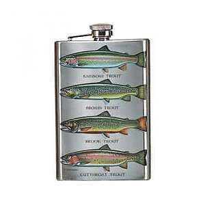 Фляжка Rivers Edge 992 Trout Flask, 255мл