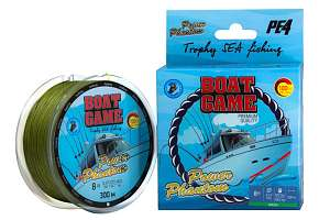 Шнур плетеный Power Phantom Boat #10 300м, 0,52мм, 54,8кг, Green