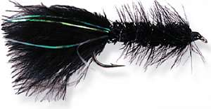 Мушка (нимфа) TF 11060-06 Crystal Bugger, Black, Sz6,